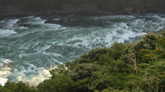 White Water Rapids of Niagara River In Canada - stock footage