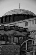 Hagia Sofia close up mono Kuvituskuvat