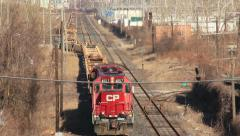 Canada Pacific Railroad Stock Footage