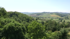 The stunning Piedmont countryside Stock Footage