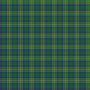 Clan Hunter of Hunterston Tartan - stock illustration