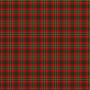 Clan Hunter USA Tartan Stock Illustration