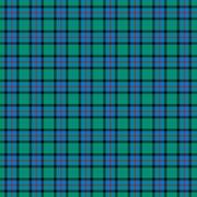 Flower of Scotland Tartan - stock illustration