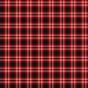 Tweedside Red (District) Tartan - stock illustration