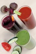 juices - stock photo