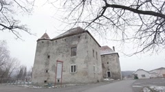 Very old building in good condition Stock Footage