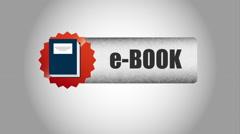 E book design, Video Animation Stock Footage