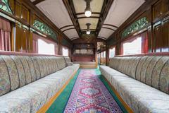 Luxurious vintage train carriage - stock photo