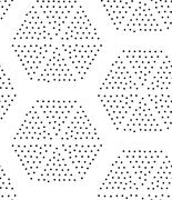 Vector geometric seamless pattern. Repeating abstract triangle gradation in b Stock Illustration