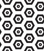 Vector seamless pattern. Modern clasical texture. Repeating geometric figures - stock illustration