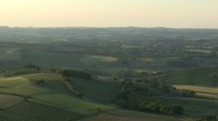 The immensity of the Monferrato Stock Footage