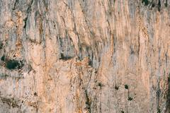 Rocky background of the Gorges Du Verdon in France Stock Photos
