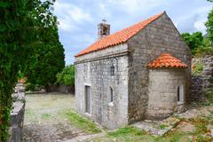 Church of St. Jovan, Old Bar, Montenegro - stock photo
