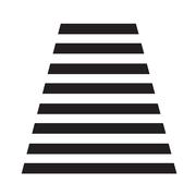 staircase icon Illustration symbol design - stock illustration
