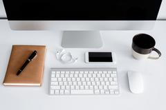 Workspace or background Stock Photos