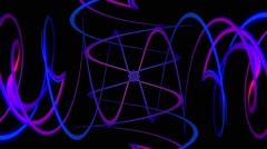 Twister Rings Loop 12 Stock Footage