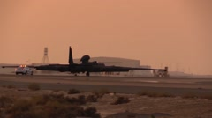SOUTHWEST ASIA, DECEMBER 2015, US Air Force U-2 Dragon Lady Aircraft After Stock Footage