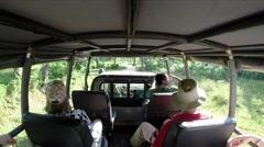 On Safari In The Jungle Stock Footage