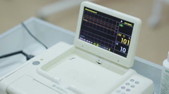 monitoring patient pressure - stock footage