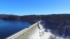 Top of Croton Dam Stock Footage