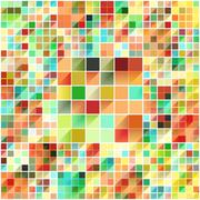 Beautiful colorful grid - stock illustration