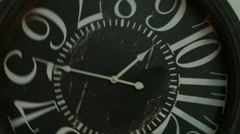 Approximation of separation from the old clock dial.  - stock footage