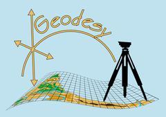 Geodesy Stock Illustration