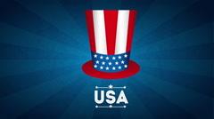Usa emblem design, Video Animation Stock Footage