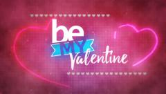 Be My Valentine Stock Footage