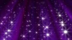 Shine Down Purple Abstract Loop - stock footage