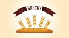 Bakery shop design, Video Animation Stock Footage