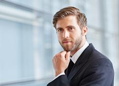 Considered approach to modern business - stock photo