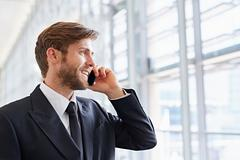 Let's look forward to better business communication - stock photo