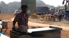 Indian Breakfast Stock Footage