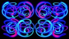 Twister Rings Loop 8 - stock footage