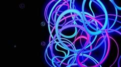 Twister Rings Loop 7 - stock footage