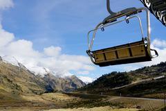 Holidays in   Andorra mountains Stock Photos