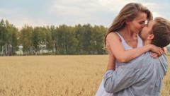 Countryside Honeymoon - stock footage