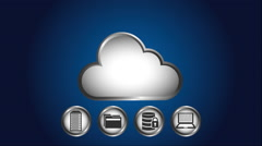 web hosting design, Video animation - stock footage