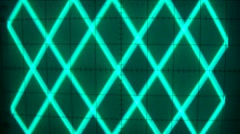 signal with triangular layers - stock footage