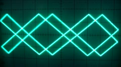 electronics with triangular movements - stock footage