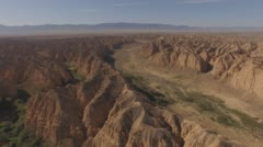 Top view of the canyons Stock Footage