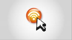 Wifi icon design, Video Animation Stock Footage