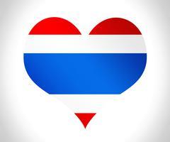 Thailand flag icon design Stock Illustration