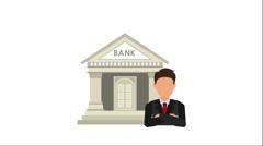 Money icon design, Video Animation Stock Footage