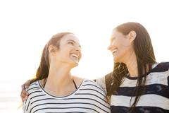 A day with friendship and laughter Stock Photos