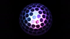 Abstract glowing orb Stock Footage