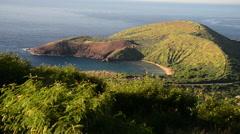 Maunalua Bay, Hawaii Stock Footage