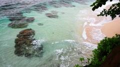 Tropical Hawaii seascape Stock Footage
