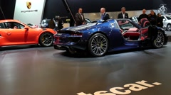 Porsche 918 Spyder supercar - stock footage